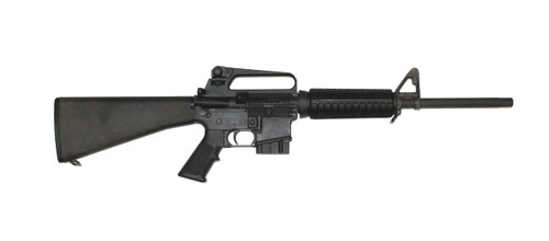 This is a Colt, AR-15 rifle, Match Target Lightweight model chambered in 7.62 x 39mm.