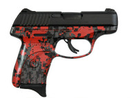 This is a Ruger LC9s 9mm, with the Red Digital (DAVIDSON'S) Camo Finish.