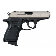 This is a Bersa Thunder .380 acp, with the reverse Duatone finish. Comes with (1) 8 round magazine.