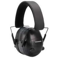 This is a pair of Winchester electronic hearing protection earmuffs, 25dB.