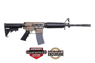 This is a Colt, AR-15 rifle, Expanse Heavy Barrel chambered in 5.56 nato, in flat dark earth (FDE). Comes with (1)-30 round magazine.