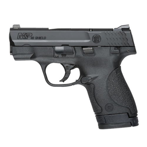 This is a Smith & Wesson Shield 40 s&w, with safety. Great concealed carry gun weighing in at a 19 ounces. Comes with (1)-6 round magazine, and (1)-7 round magazine.
