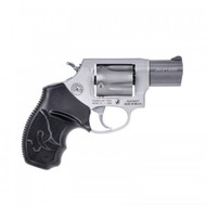 This is a Taurus 85, .38 special (+p rated) revolver, with a stainless steel frame.