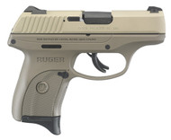 This is a Ruger LC9s 9mm, with a FDE (flat dark earth) frame and a sage slide. This is a TALO exclusive.