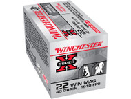 Winchester .22 Magnum 40 Grain 1910fps 50 Rounds / Box Ammo