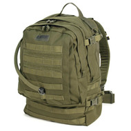 This is a Blackhawk Barrage Pack, it is a 3-Day pack that comes complete with a 100 ounce hydration bladder.