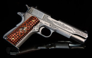 This is a Colt 1911 chambered in .45 acp. exclusive Talo edition called the Nimske.