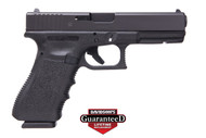 This is a Glock 17 9mm, Gen 3, with a black finish. Special Price on Brand New Overstock Glock 17's.
