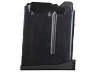 This magazine fits a FNH SPR .308 and has a maximum capacity of 10 rounds.