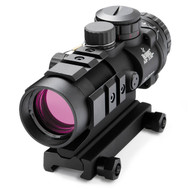 This is a Burris AR-332 3x32mm prism sight with a Ballistic / CQ Reticle, with a matte black finish.