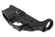 This is an Anderson AR-15 lower with a closed trigger.