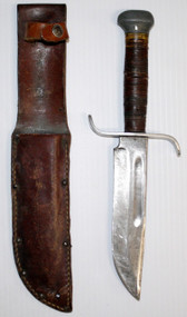 "Own a piece of history with this PAL RH36 combat knife used in WW2. ""S"" like hand guard, Handle is worn. Blade has scuffs and scratches, but still holds an edge."