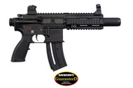 This is a HK 416 22LR pistol. Comes with (1) 20 round magazine.