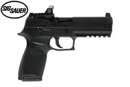 This is a Sig Sauer P320 9mm, with the Romeo RX Reflex sight. Comes with (2) - 17 rd magazines.