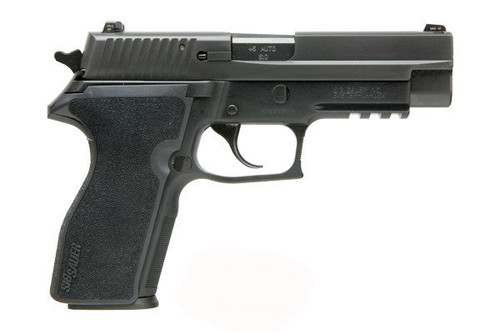 This is a Sig Sauer 227 chambered in 45 acp. This firearm is pre-owned in excellent condition.