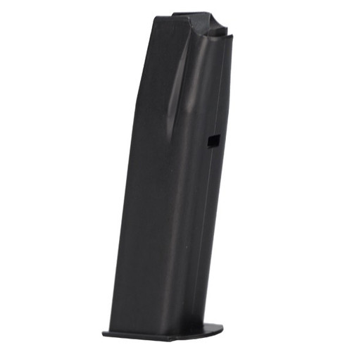 This is a factory CZ magazine for the CZ 83 .380 acp or CZ 82 9x18 Makarov, 12 round capacity.