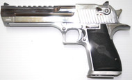 Desert Eagle Brushed Chrome 50AE Pistol USED