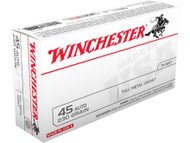 Winchester 45 Auto 230 Grain FMJ 50 Rounds/Box