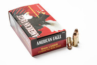 Federal American Eagle 9mm 115 Grain FMJ 50 Rounds Box