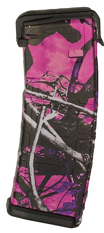 "This is a AR-15  magazine .223 / 5.56 30 round with the ""Muddy Girl"" design, by Matrix Diversified Industry (MDI)."