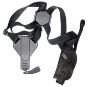 Uncle Mikes Sidekick Vertical Shoulder Holster- Blk- RH Size 0