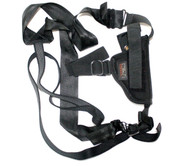 Uncle Mikes Sidekick Undercover Horizontal Shoulder Holster- Blk- RH/LH Size 1