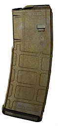 "This is the AR-15 magazine .223 / 5.56 30 round with the ""Bounty Hunter"" design, by Matrix Diversified Industry (MDI)."
