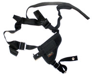 Uncle Mikes Sidekick Undercover Horizontal Shoulder Holster- Blk- LH/RH Size 2
