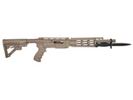 This is an Archangel conversion stock for the Ruger 10/22 in desert tan, made by Pro Mag