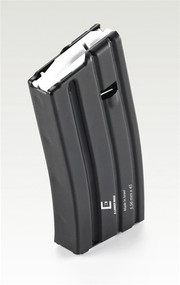 This is a 20 round steel AR-15 magazine .223 / 5.56, made by The Mako Group.
