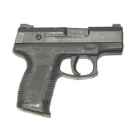 This is a Taurus PT-111 PRO 9mm, USED. Comes with (1) 12 round magazine.