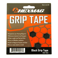 This is a HEXMAG set of grip tape for their AR-15 magazines, black.