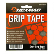 This is a HEXMAG set of grip tape for their AR-15 magazines, gray.