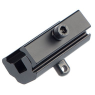 This is an adapter from a picatinny rail to a swivel stud!