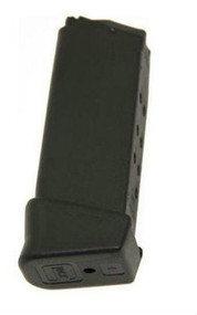 This is an extended factory Glock magazine for the G26 9mm (3rd generation), 12 round capacity.
