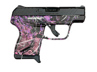 This is a Ruger LCP II .380 acp, with Muddy Girl Camo. This new version of the LCP features a number of great upgrades.