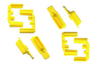 The HexID Color ID System is used for quick ammo identification. Each system is a 4 pack of followers and latch plates
