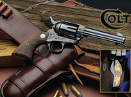 "This is a Colt Single Action Army (SAA) chambered in .45 long colt (LC). This model is a TALO special edition called ""The Last Cowboy""."