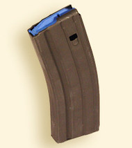 This is a 25 round AR-15 magazine 6.5 Grendel, made by Ammunition Storage Components (ASC).