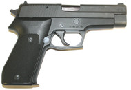 This is a Sig Sauer P220. 45acp. Manufactured in Germany (No Rail)