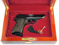 Used Walther PPK/S with nice red velvet display case.