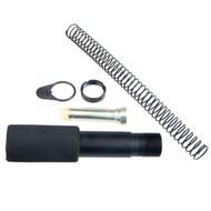 Pistol buffer tube kit for an AR-15 pistol build