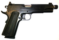 Remington R1 Enhanced 1911. Chambered in 45 auto with threaded barrel. Used