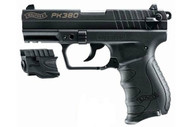 This is a Walther PK380 .380 acp. With Laser