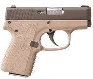 Kahr CW380 chambered in 380 acp. Cerakoted Patriot Brown