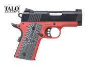 Colt 1911 Defender - 9MM - TALO - Red Frame