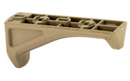 This is a genuine Magpul AFG (Angeled Fore Grip) that will fit on any M-Lok Rail system. FDE (Flat Dark Earth)