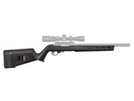 Magpul X-22 stock fits a Ruger 10/22. Will fit either standard barrel or bull barrel