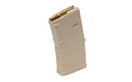 This is a 20 round Sand polymer AR-15 magazine .223 / 5.56, made by Magpul.