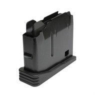 This magazine fits a FNH SPR .308 and has a maximum capacity of 5 rounds.     Also known as the Tactical Box Magazine (TBM).